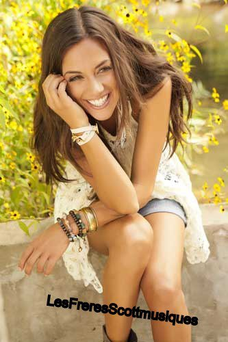 "Jana Kramer Photos du tournage de son clip "" Why Ya Wanna """
