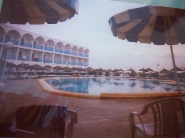 picine de l'hotel
