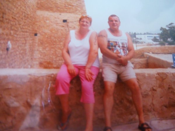 moi et mon papa en tunisie