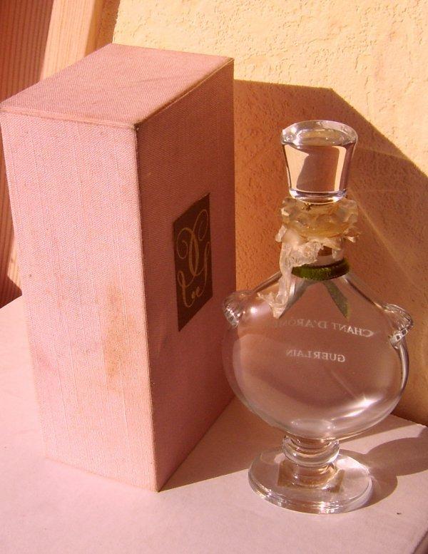 guerlain - flacon parfum  chant d aromes 15.5 cm