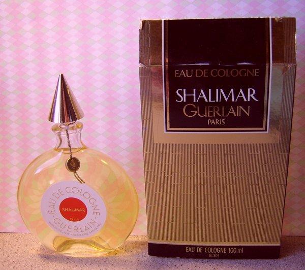 FLACON GUERLAIN - SHALIMAR ...cologne et eau de cologne