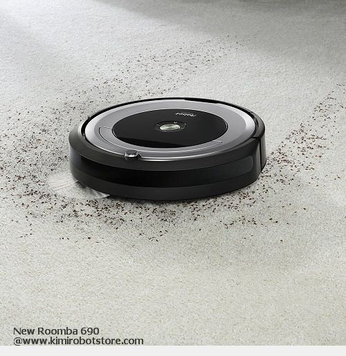 Awesome iRobot Roomba 690 Kepala Batas