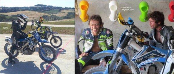 . 05/07/2013 : Guy Martin et Valentino Rossi réunis par Dainese au Motoranch ! .