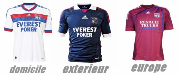 maillot 2011/2012