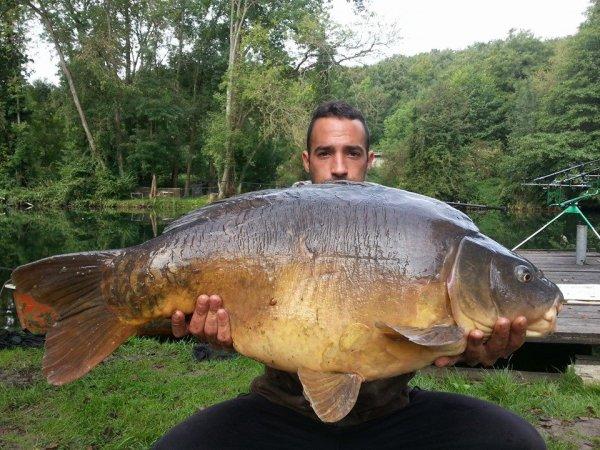 17kg600 en rivière pour l'amis Vincent !!!