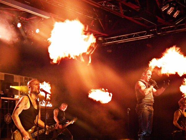 Rammstein Tribute Band a renvoyé le Kulturwerk