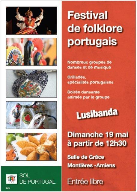 FESTIVAL FOLKLORIQUE Dimanche 19 mai 2013 à Amiens (Salle de Grâce - Montières)