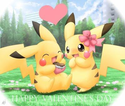 Les deux Pikachu Love !