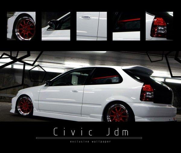 Honda Civic style Jdm