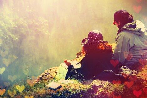 """"""" Je serai là près de toi, Même si je sais qu'tu n'me vois pas, Je marcherai dans tes pas  Même dans le ciel tout contre toi Je t'aimerai même dans la mort Car mon amour est bien trop fort Tu me manqueras toujours"""" Priscilla"""
