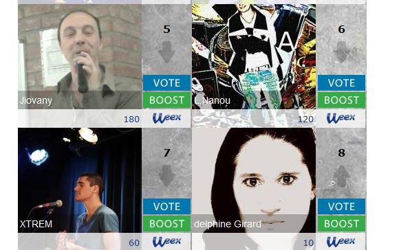 VOTER POUR DELPHINE GIRARD  RECORD YOUR VOICE  http://www.buzz-land.com/record-your-voice-4/