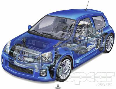 clio v6 moteur a l 39 arriere supercars. Black Bedroom Furniture Sets. Home Design Ideas