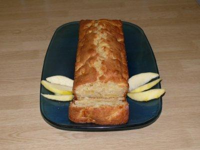 recette cake aux pommes les recettes de mamans. Black Bedroom Furniture Sets. Home Design Ideas