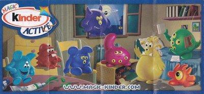 Les petits monstres (UN028 à UN035)