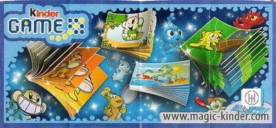 "Kinder Game "" Mini-Livres "" (DE056 à DE059)"