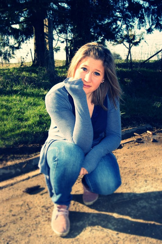 La vie, c'est pas le paradie.♥