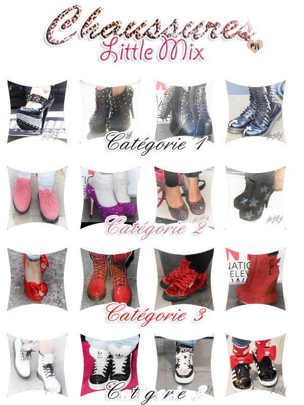 Shoes of Little Mix. ♥