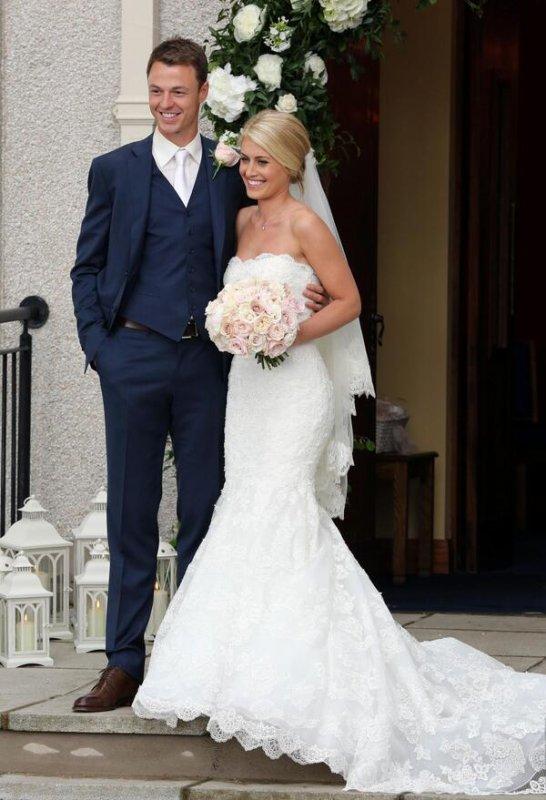 jonny Evans et sa femme helen