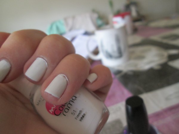 Nail art Pailletées
