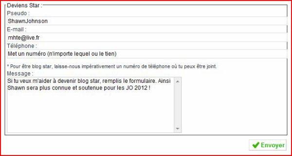 Aide moi à devenir blog star !