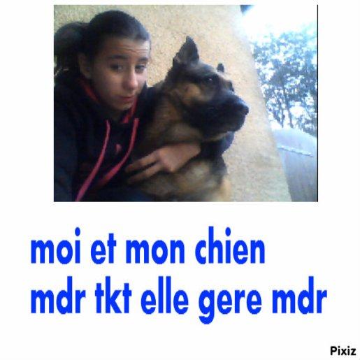 moi et le chien !