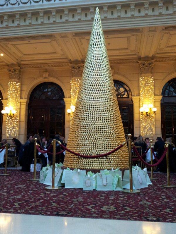 Le 'SAPIN Ladurée' au Grand Hôtel Opéra