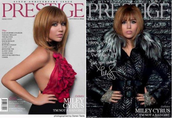 Miley dans Prestige !