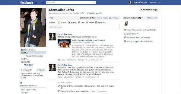 Tournage - GleeFrance - Facebook