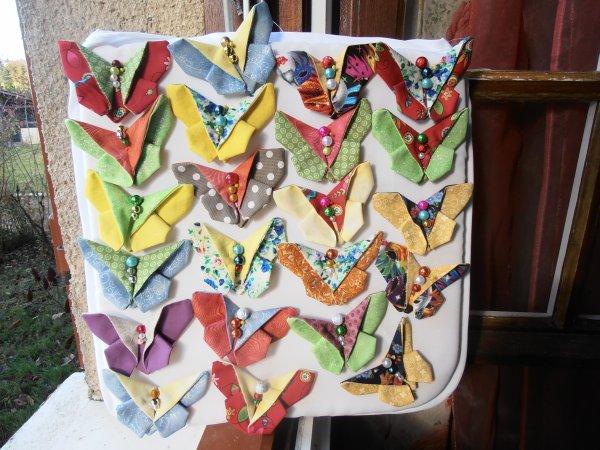 22 papillons