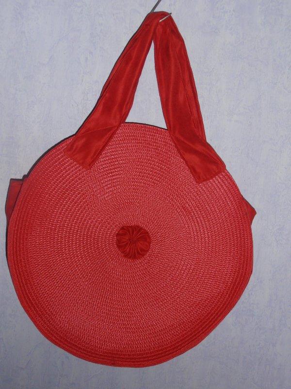 sac réalisé avec set de table
