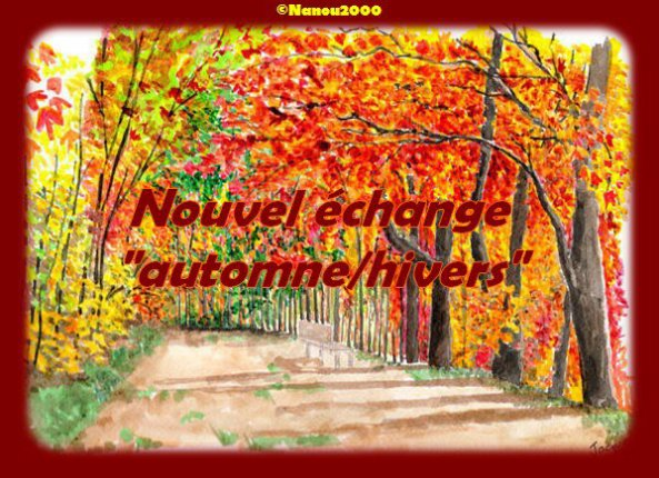 Echange automne/Hiver