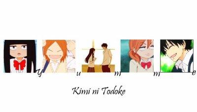 Mangaa n° 5 Kimmini todoke (Sawako )