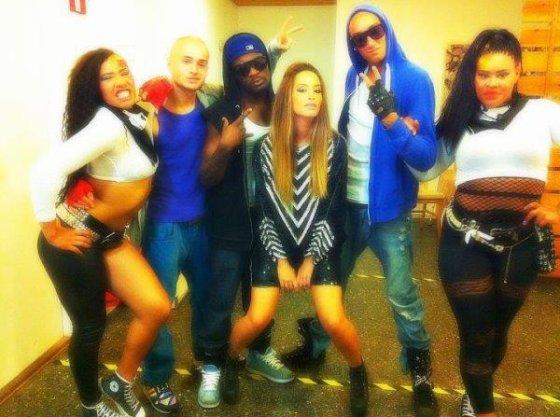 Dafina and The Bowdown Crew Cheaaaaa <3 :P