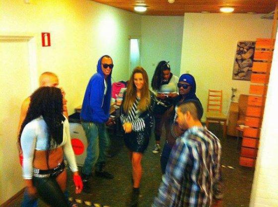 Dafina and The Bowdown Crew  <3 :P