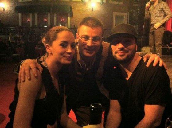 Dafina , Ledri dhe nje koleg i tyre