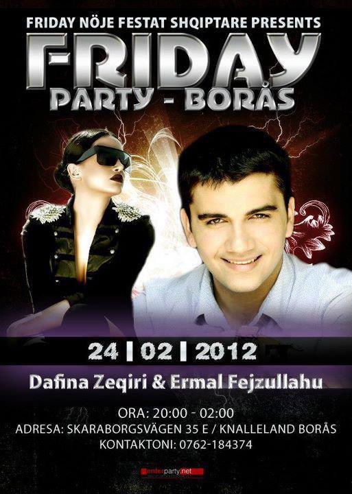 Dafina Zeqiri & Ermal Fejzullahu Koncert Ne Suedi !