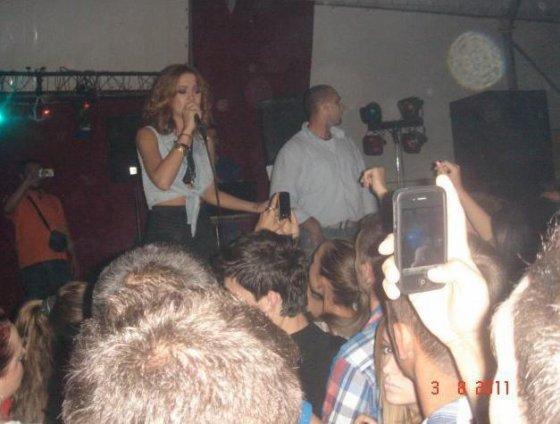 Dafina Zeqiri ne Koncert