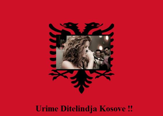 Urime 4 Vjetorin e Pavaresise se Kosoves te Gjith Shqiptareve kudo qe Gjinden !!! Sod Gjith Kosova do te merr Frym SHQIP !! Happy Birthday Kosovo <3<3!!!