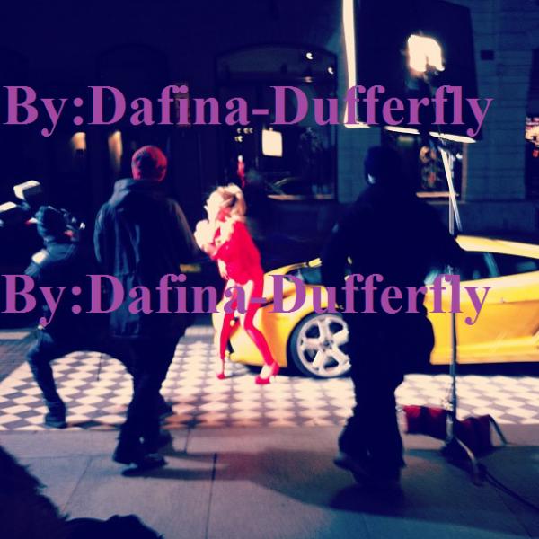 """Foto Ekskluzive !!! Dafina Zeqiri Making Of """"SUPERNOVA"""" !!"""