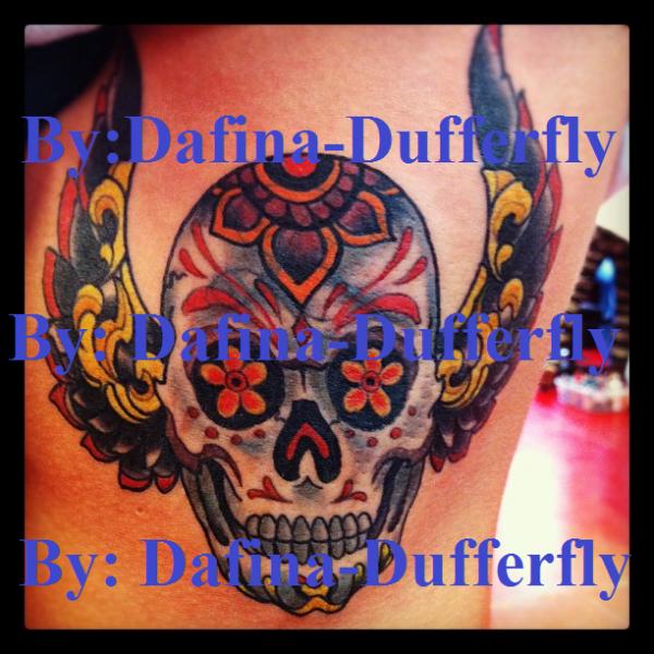Tatuazhi i ri i Dafines !!! <3