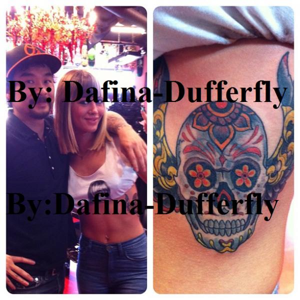 EKSKLUZIVE !! Tatuazhi i Dafines !!!!