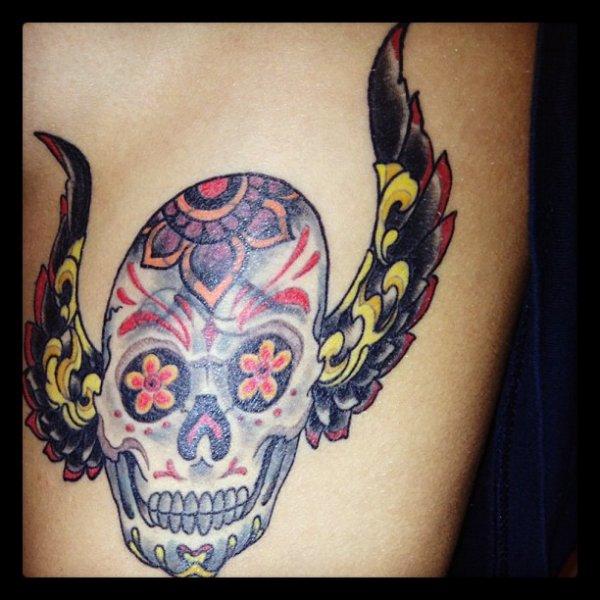 Tatuazhi i ri i Dafines qe e ka bere ne LA !!