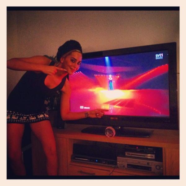 Goooo Rona !! #ALBANIA <3<3