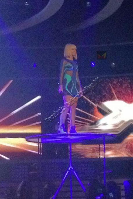 Duffy'e ne Ushtrime per X-Factor Albania