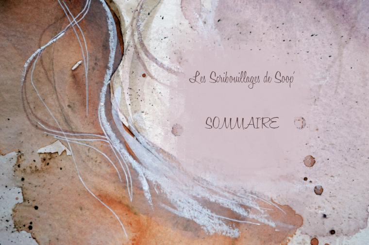 Les Scribouillages de Soop' __ Sommaire