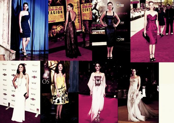 ●●Différente tenue que Marion àporté lors de ces divers sorties avant premiére.Laquel préférez vous?