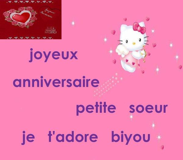 Joyeux Anniversaire Tite Soeur Blog De Naninete