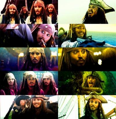 Le Capitaine Jack Sparrow Dans tous Ses Etats ! :)