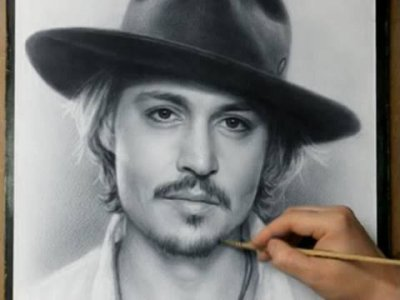 Magnifique reproduction de Johnny Depp :)