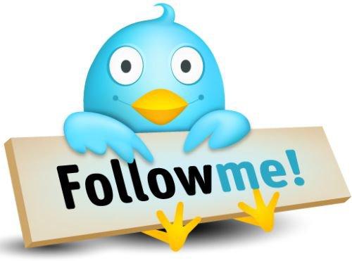 Suivez moi sur twitter et j'vous suis :') !